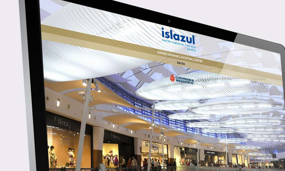 Islazul Award Winning Shopping Centre Investment Website