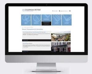 Chapman Petrie Corporate Website