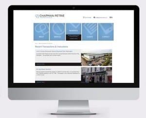 Chapman Petrie Corporate Website