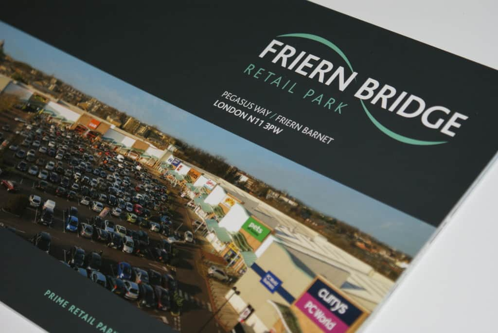 Friern Bridge Printed Brochure