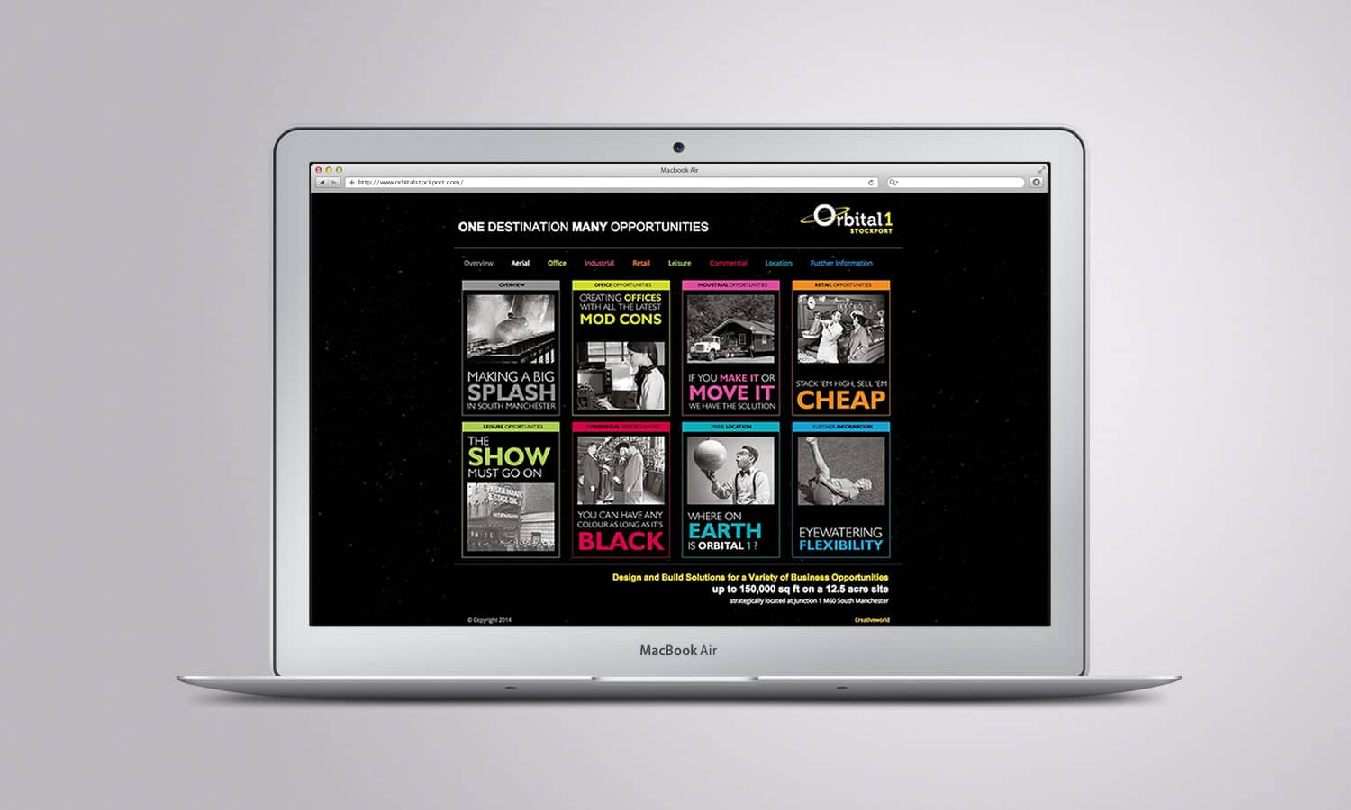 Orbital1 Corporate Website