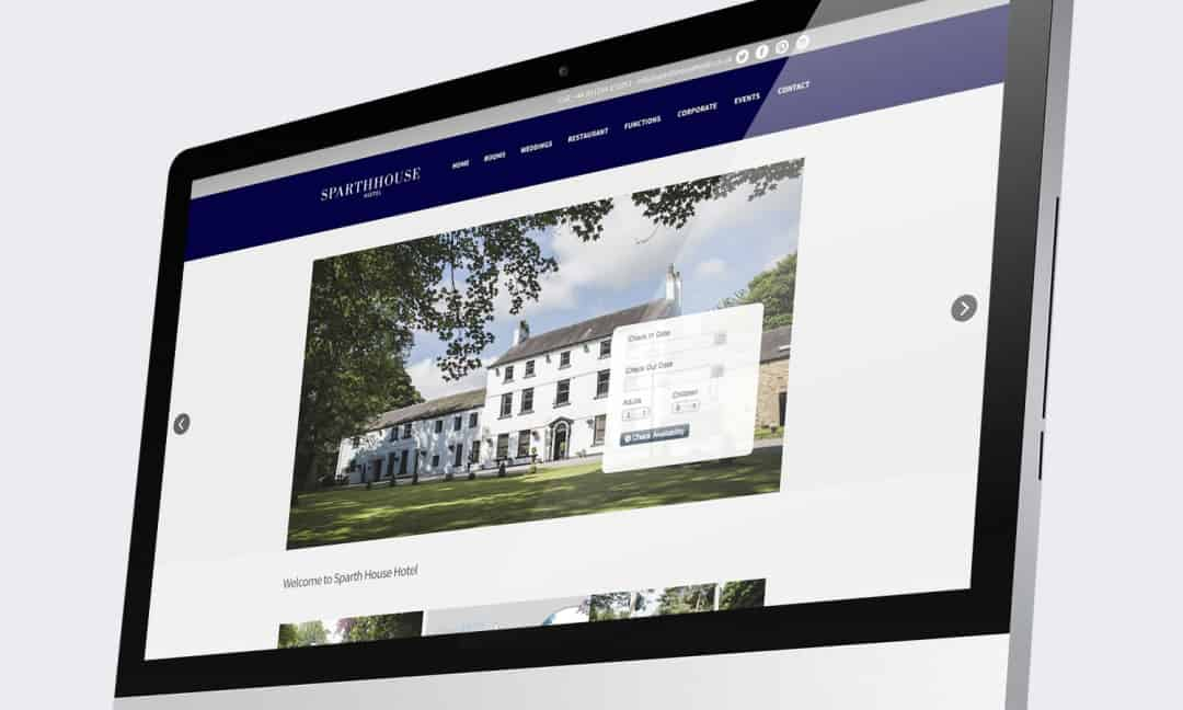 Sparth House Hotel Website