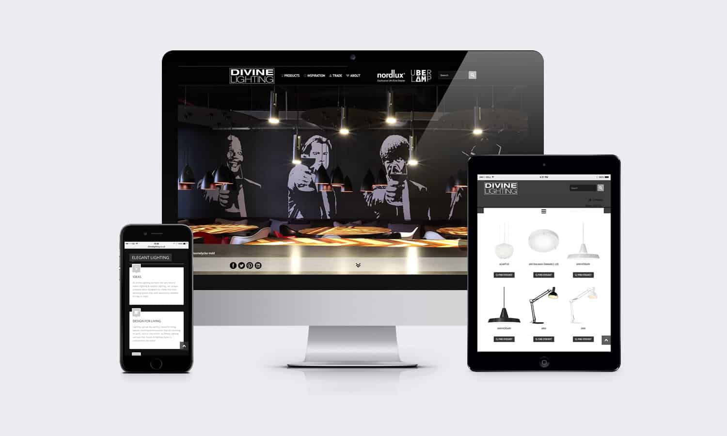 Divine Lighting Website