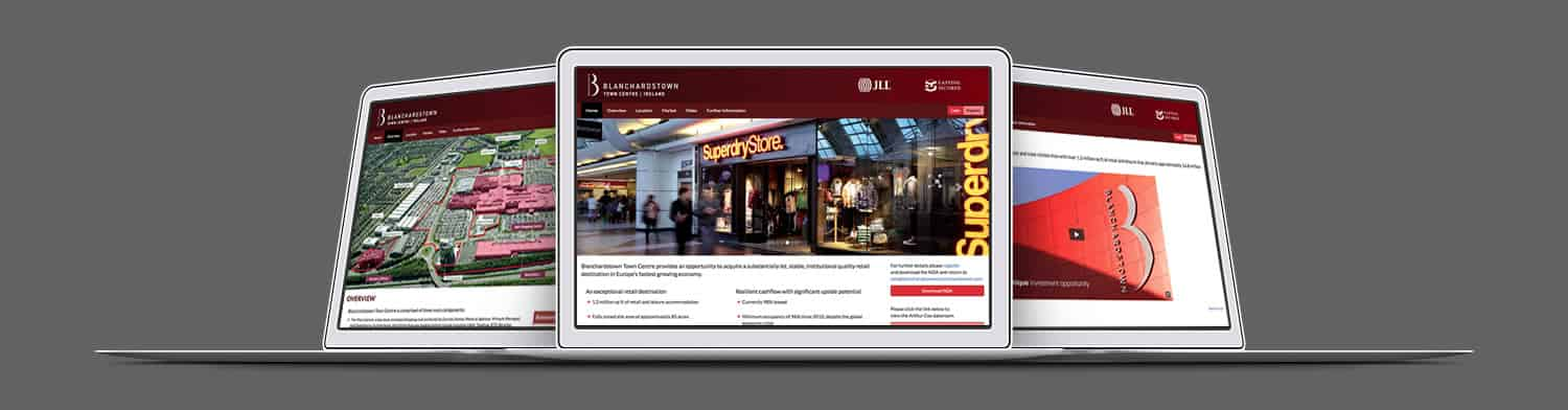 Blanchardstown Investment Dataroom Website