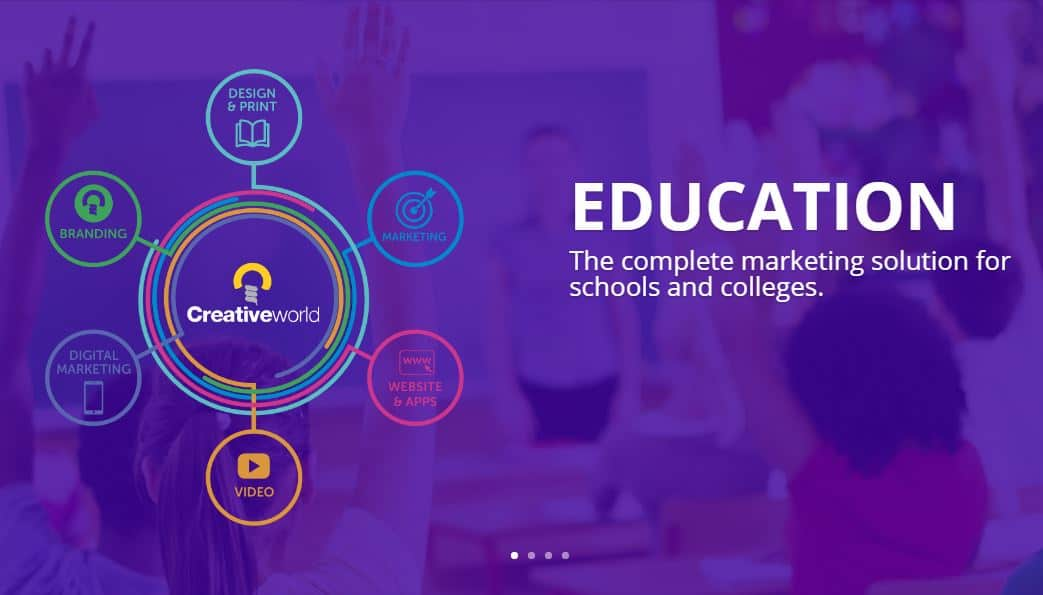 Creativeworld Launches New Education Website