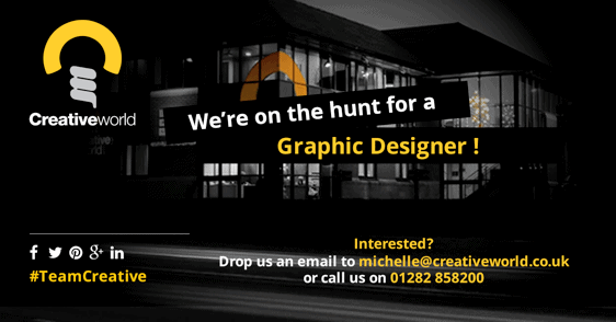 Creativeworld on the look out for new Graphic Designer