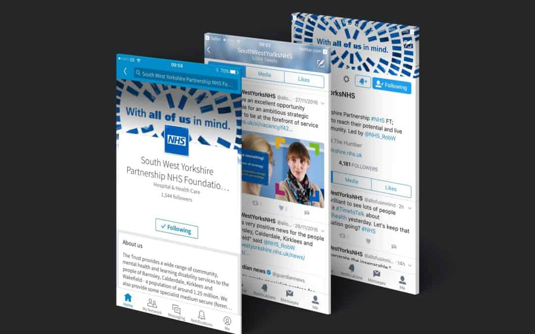 A Social Media Collaboration With The South West Yorkshire Partnership NHS Foundation Trust