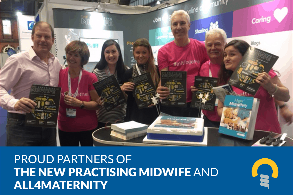 Creativeworld Partners with All4Maternity and The Practising Midwife