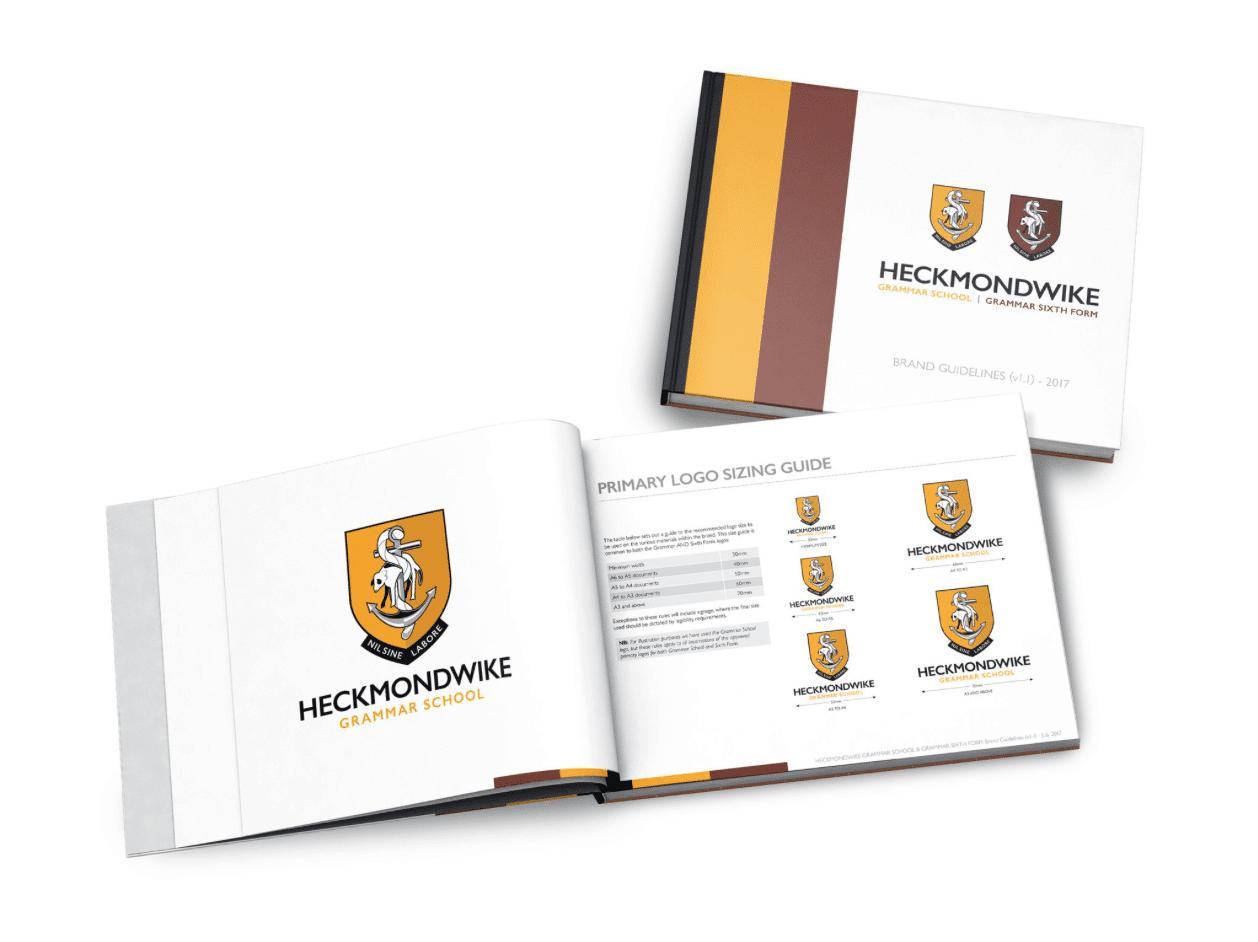 Heckmondwike Grammar School rebrand