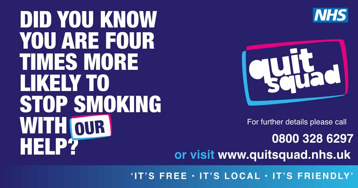 Quit Squad Facebook ad