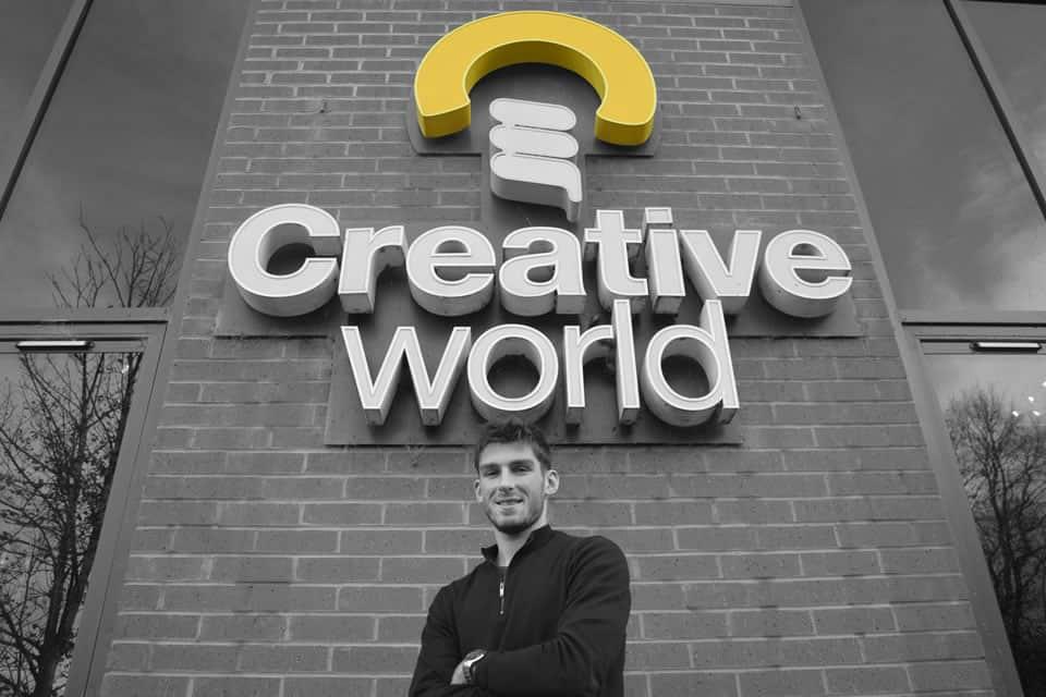 Junior Sales Executive Alex Wood