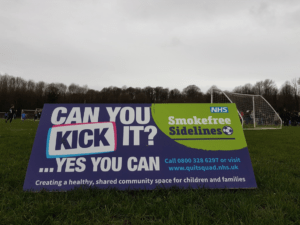 Smokefree Sidelines Cortex Boards designed by Creativeworld