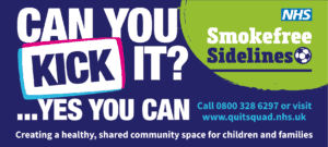 Can you kick it? Quit Squad Smokefree Sidelines
