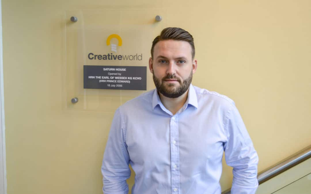Creativeworld Appoints James Wood As Director