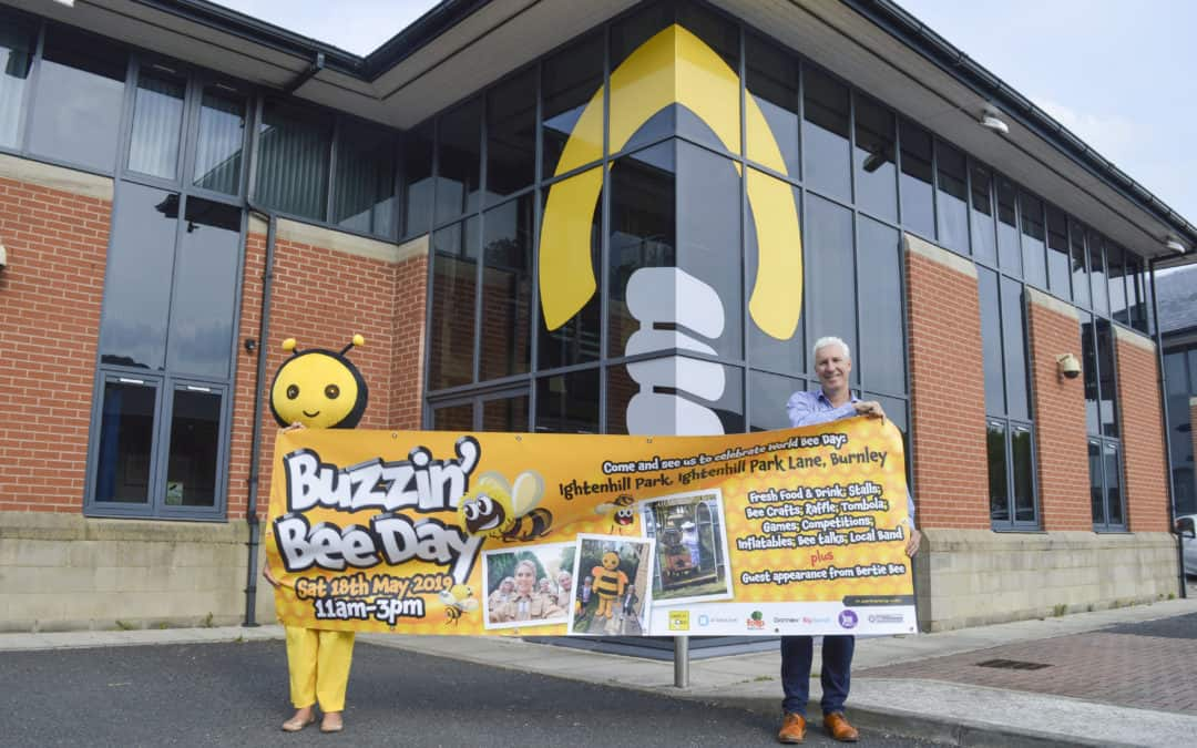 Creativeworld joining the buzz for World Bee Day