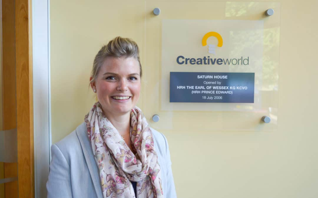 Creativeworld Appoints Financial Services Marketing Expert Fiona Morphet