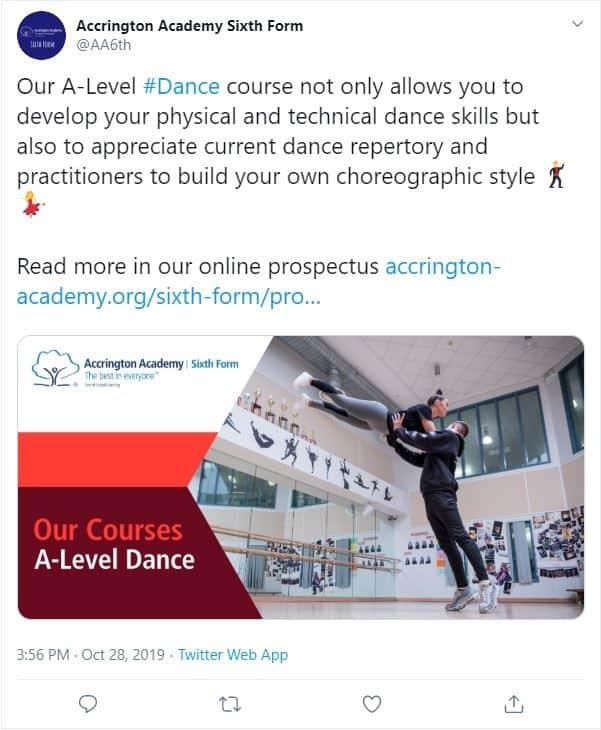Accrington Academy Social Media