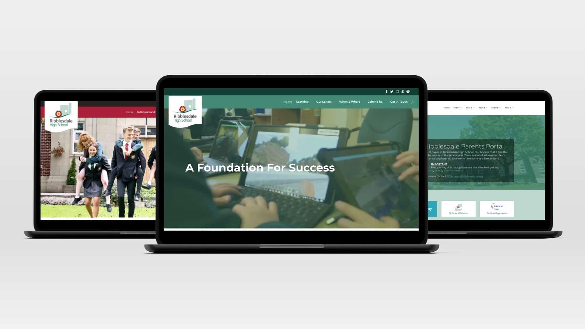 Ribblesdale High School Websites
